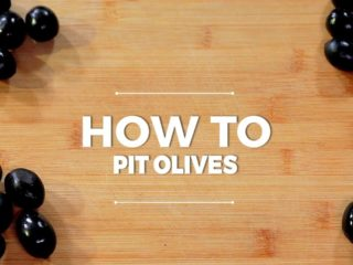How to Pit Olives