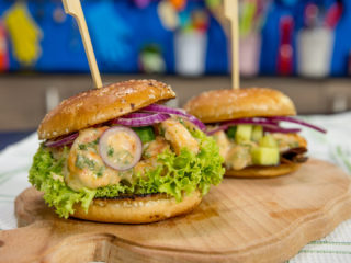 Shrimp Burger -