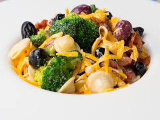 Bacon and Broccoli Orecchiette Salad -