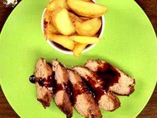 Spicy Pork Steak -