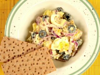 Potato and Onion Oriental Salad -