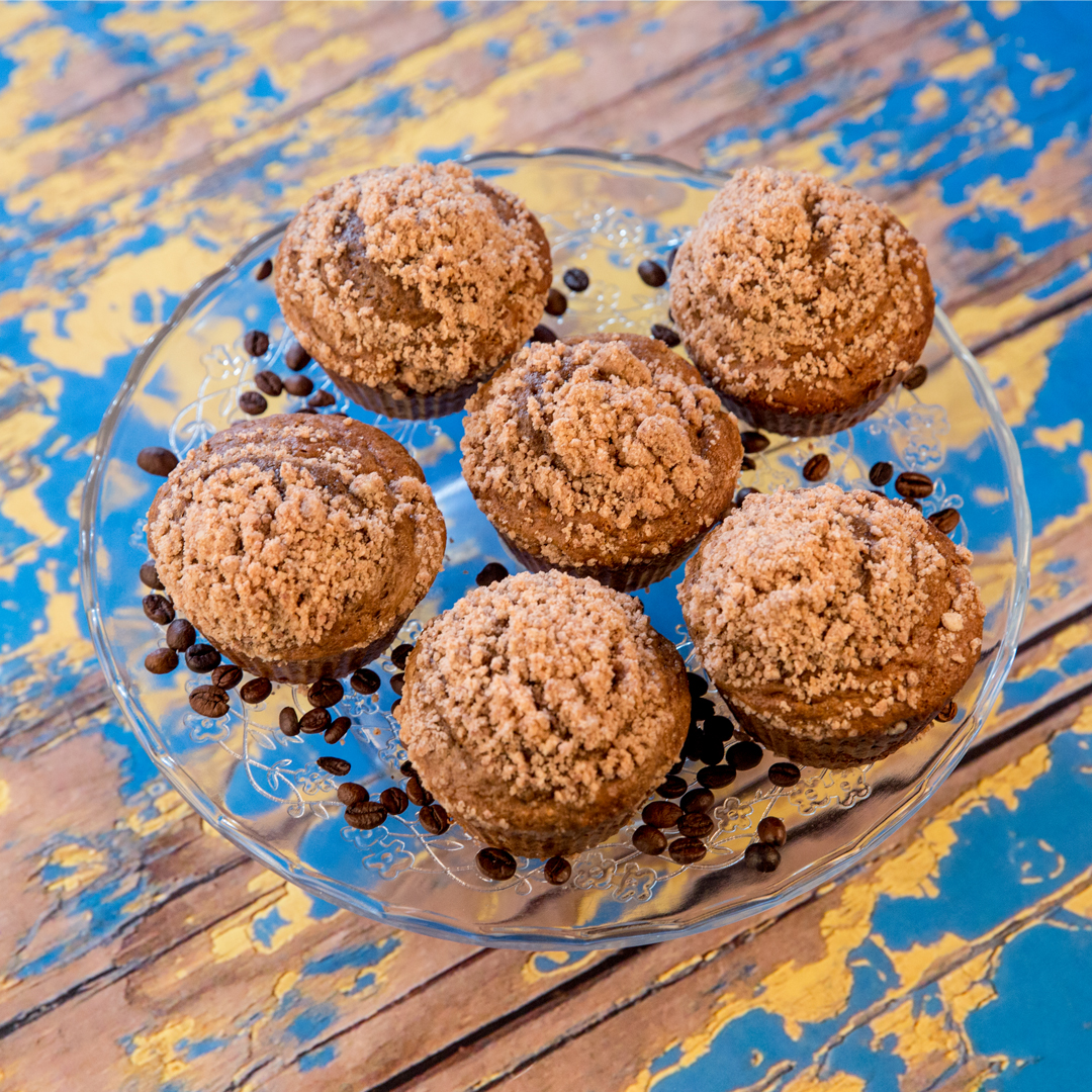 Coffee Cake Muffins -