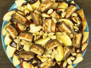 Apple and Snickers Salad -
