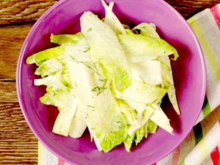 Endive and Mayonnaise Salad -