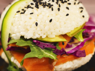 Mini Sushi Burgers -