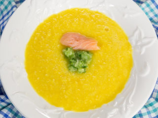 Sweet Corn and Bell Pepper Soup -
