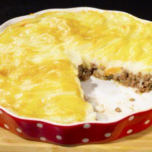 Pork Mince and Mashed Potato Casserole -
