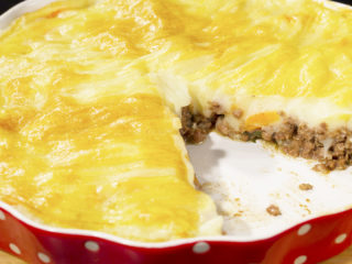 Pork Mince and Mashed Potato Casserole -