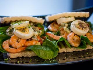 Shrimp Salad Sandwich -