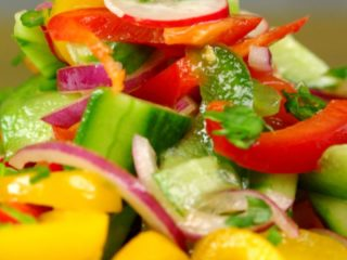 Spring Vegetable Salad -