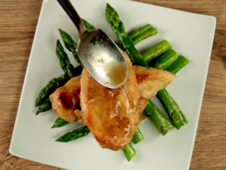 Asparagus and Lime Chicken -