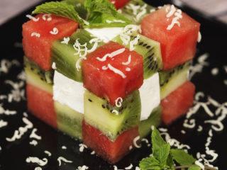 Rubik's Cube Fruit Salad