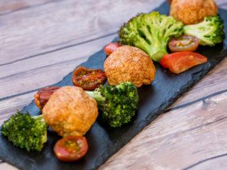 Baked Turkey Meatballs -