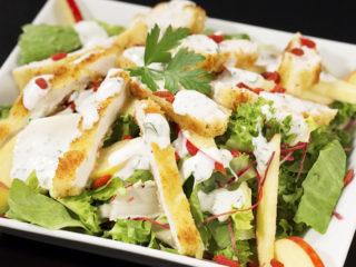 Chicken, Apple and Goji Berry Salad -