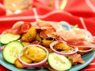 Warm Potato and Prosciutto Salad -