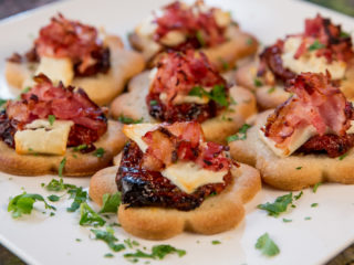 Sun-Dried Tomato, Feta and Bacon Bites -