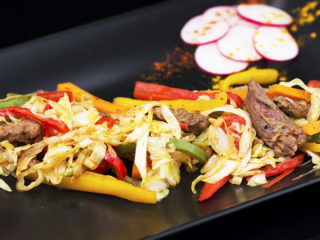 Beef and Vegetable Stir-Fry -