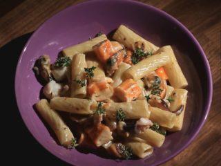Sweet Seafood Tortiglioni -