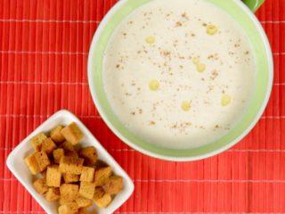 Cauliflower Cream Soup -