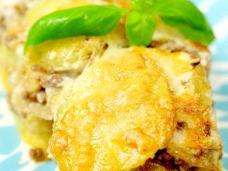 Beef and Potato Moussaka -