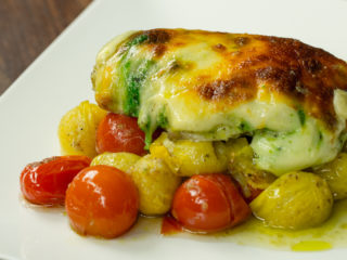 Pesto Chicken Bake -