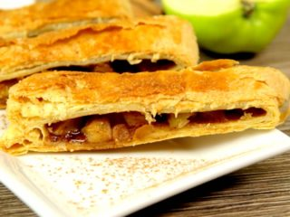 Apple and Cinnamon Puff Pastry -