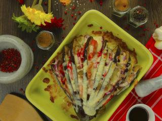 Roasted Eggplant Fan -