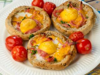 Egg-Stuffed Bread Rolls -