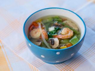 Fish and Shrimp Soup -