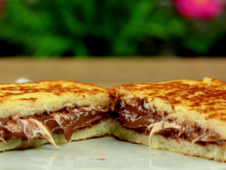 Chocolate and Marshmallow Sandwich -