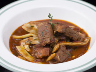 Lamb Stew with Yellow Beans -