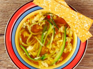Spicy Zucchini Soup -