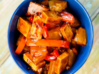 Tofu and Pineapple Stir-Fry -