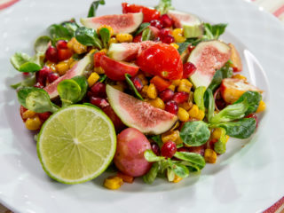 Warm Corn Salad -