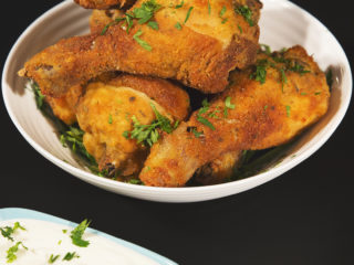Breaded Baked Chicken Drumsticks -