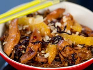 Chicken Noodle Stir-Fry -