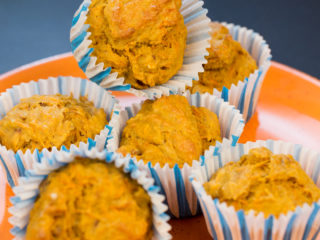 Salty Carrot Muffins -