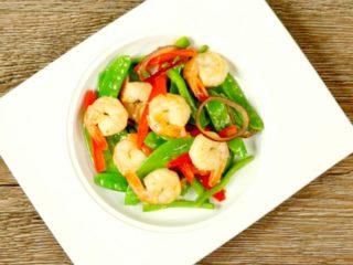 Shrimp and Vegetable Stir-Fry -