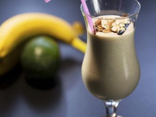 Banana and Avocado Milkshake -
