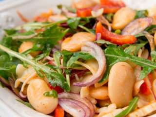 White Bean Pasta Salad -