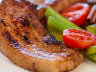 Honey-Glazed Pork Belly -