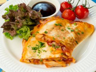 BBQ Chicken Quesadilla -
