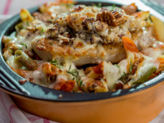 Pork and Pasta Bake -