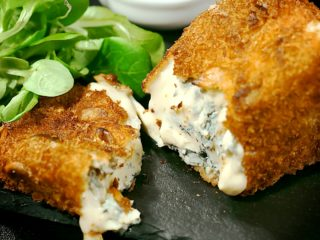 Blue Cheese Fritters