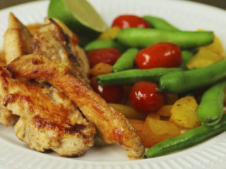 Chicken Breast with Sauteed Vegetables -