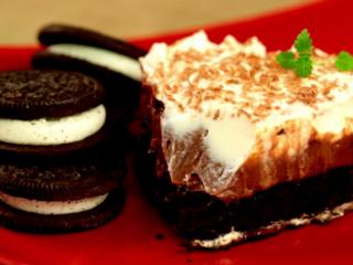 No Bake Chocolate Cheesecake -