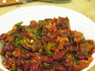 Tequila Flavored Chili -