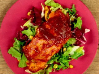 Bacon Topped Chicken Breast -