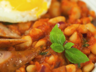 Stewed White Beans with Tomato Sauce -