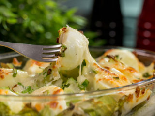 Cabbage, Endive and Egg Casserole -